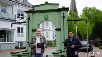 Tour durch den Ortskern: In Rellingen per App in die Vergangenheit sehen | shz.de - shz.de