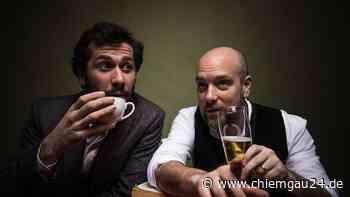 """Trostberg: """"Kaffee und Bier"""" - Eine musikalische Lesung mit Stefan Leonhardsberger und Stephan Zinner - chiemgau24.de"""