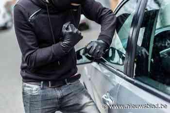 Inbraak in voertuig in Nieuwerkerken