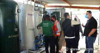 Sete Lagoas investe em usina de oxigênio para pacientes com COVID-19 - Estado de Minas