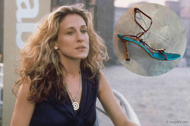 Sarah Jessica Parker 'unearths' mangled Manolos from 'Sex and the City' - Page Six