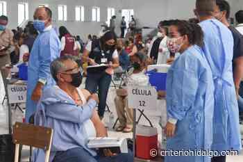 Arranca la vacunación de quincuagenarios en Tula - Criterio Hidalgo