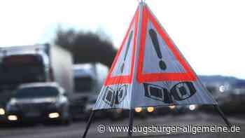 Übermüdeter Autofahrer verursacht auf A8 bei Burgau einen Unfall - Augsburger Allgemeine