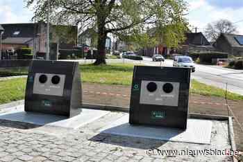 Camera tegen overvolle glasbollen en sluikstorting (Opwijk) - Het Nieuwsblad