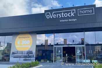Eerste West-Vlaamse vestiging van nieuw concept Overstock Home opent in Wevelgem