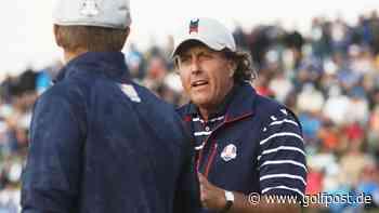 """Phil Mickelson: """"Ein Sieg ist keine Garantie für den Ryder Cup!"""" - Golf Post"""