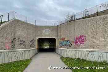 Graffiti-covered tunnel at Port Huron's Blue Water River Walk is getting a facelift - Concentrate