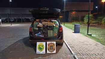 PF, BPFron e BOPE aprendem veículo carregado com contrabando em Terra Roxa - Aquiagora.net