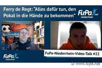 Ferry de Regt als Kapitän des SV Straelen im Video-Talk - FuPa - das Fußballportal