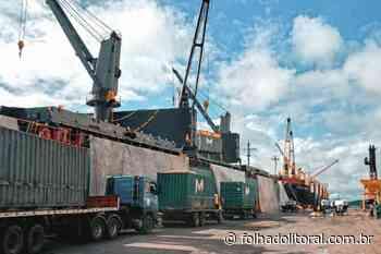 Porto de Antonina faz exportação inédita de pellets de cana - Folha do Litoral News
