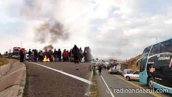 Región Puno: Paro de 48 horas es con bloqueo de vía Azángaro – Macusani - Radio Onda Azul