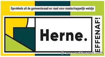 HERNE - Sprokkels uit de gemeenteraad en de raad maatschappelijk welzijn van 26 mei - Editiepajot