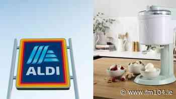 ALDI to sell Ice Cream Maker, Ice Cube Machine and more - FM104
