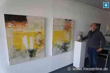 Kunst in Bad Zwischenahn: Reliefs aus Farbe und Sand - Nordwest-Zeitung
