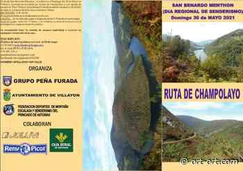 El Día Regional del Senderismo San Bernardo Menthón: Ruta de Champolayo se celebrará el próximo domingo en Villayón - ORT