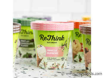 ReThink Ice Cream debuts product reformulation and packaging refresh