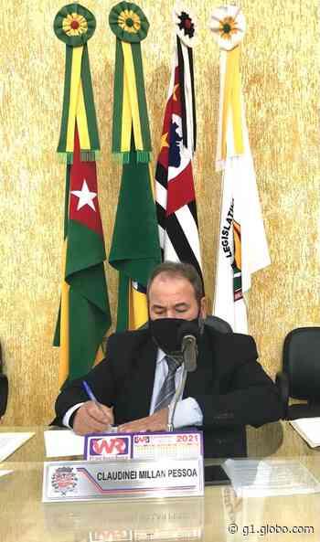 Presidente da Câmara Municipal de Dracena é afastado temporariamente do cargo após testar positivo para Covid-19 - G1
