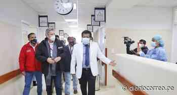 Presidente Sagasti supervisa las instalaciones del nuevo Hospital César Vallejo - Diario Correo