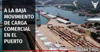 A la baja movimiento de carga comercial en el puerto de Salina Cruz - Cortamortaja, Agencia de Noticias