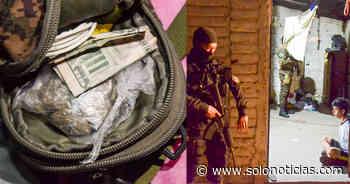 Encuentran droga durante allanamientos en operativos La Roca y Piedra Pintada - Solo Noticias