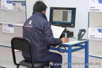 ODPE de Putina anuncia simulacro del sistema de cómputo electoral - Pachamama radio 850 AM