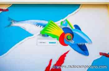 Há um novo mural em Sines, este é assinado pelo artista Smile1art - Rádio Campanário - Rádio Campanário