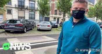Verkeersdrempels zorgen voor scheuren en barsten in woningen in Koekelberg - VRT NWS