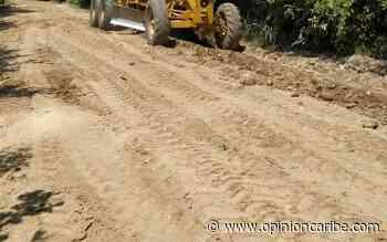 En Aracataca, avanzan trabajos de mejora en la vía Cauca - Opinion Caribe