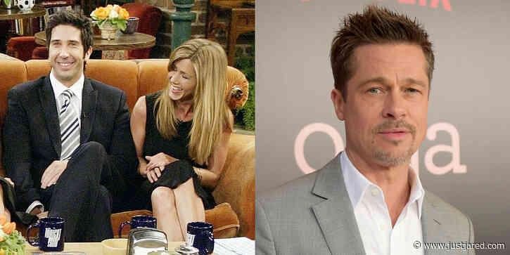 David Schwimmer Brought Up Brad Pitt During 'Friends' Reunion - See Jennifer Aniston's Reaction