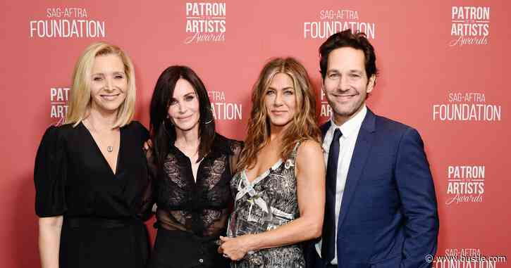 Why Isn't Paul Rudd In The 'Friends' Reunion? He's Downplayed His Role - Bustle