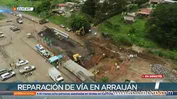 Avanza reparación por hundimiento en tramo de la vía en Arraiján - Telemetro