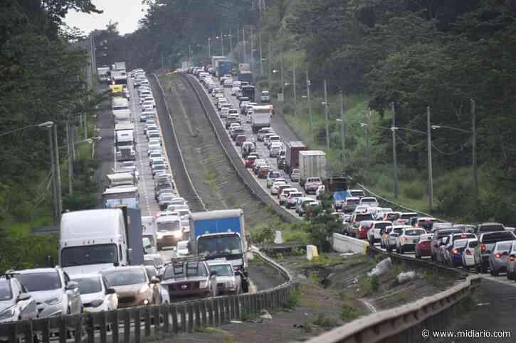 Conductores desesperados. MOP indica cuándo podrían terminar los trabajos en Arraiján - Mi Diario Panamá