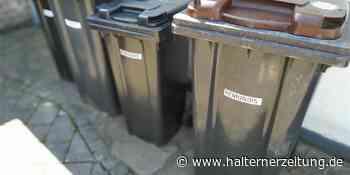 Abfallmengen sind gestiegen - was hat das mit Corona zu tun? | Olfen Nordkirchen - Halterner Zeitung