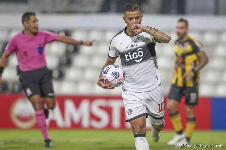 Em jogo de oito gols, Olimpia goleia o Táchira e passa às oitavas da Libertadores no saldo - globoesporte.com