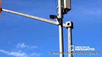 Navegantes pretende chegar a 180 câmeras de monitoramento ativas em 2021 - Prefeitura de Navegantes