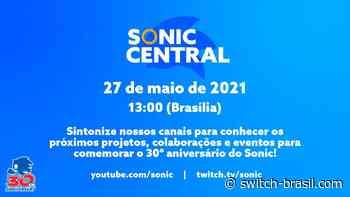 Evento Digital | Sonic Central – Assista à apresentação a partir das 13h00 (Brasilia) • Switch Brasil - Switch Brasil