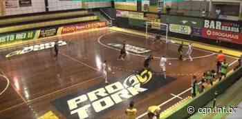 Cascavel Futsal goleia o Siqueira Campos por 7 a 2 pelo Paranaense - CGN