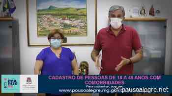 Pouso Alegre amplia cadastro de pessoas com comorbidades para 18 a 49 anos na vacinação contra a Covid - PousoAlegre.net