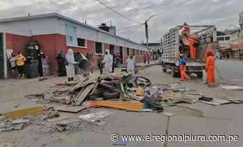 Talara: recogen ocho toneladas de basura en el primer día del cierre temporal del Mercado Central - El Regional