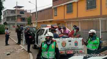 Piura: intervienen y multan a doce personas en cantina de Talara - LaRepública.pe