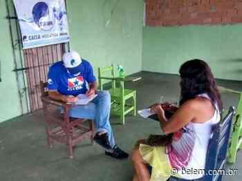 Moradores do Jardim Modelo, em Castanhal, se cadastram na Cosanpa - Portal Belém