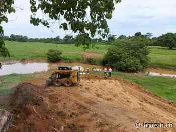 Comenzó construcción de puente que comunica a La Apartada y Ayapel - LA RAZÓN.CO