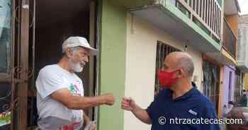 Visita Arnoldo Rodríguez El Orito y Tres Cruces - NTR Zacatecas .com