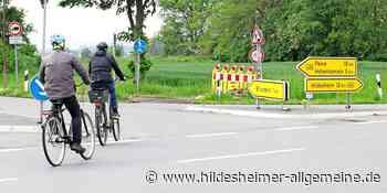 Gefährliche Situation für Radfahrer auf B 494 zwischen Harsum und Hohenhameln - www.hildesheimer-allgemeine.de