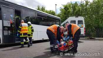 Libercourt : faux accident mais vrai exercice pour les pompiers et le personnel de Transdev - La Voix du Nord