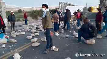 Ministro hoy en Moquegua para poner fin a protesta - LaRepública.pe