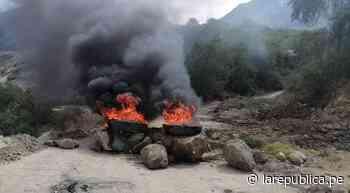 Moquegua: continúa el paro indefinido por la contaminación de ríos - LaRepública.pe