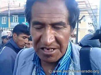Puno: comuneros de Jatucachi anuncian movilización por problemas limítrofes con región Moquegua - Pachamama radio 850 AM
