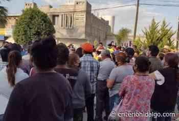 Acusan colusión de Policía municipal con delincuentes, en Tlaxcoapan - Criterio Hidalgo
