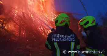 """Vier Brände im Mai: Geht in Feldkirchen etwa ein """"Feuerteufel"""" um? - nachrichten.at"""
